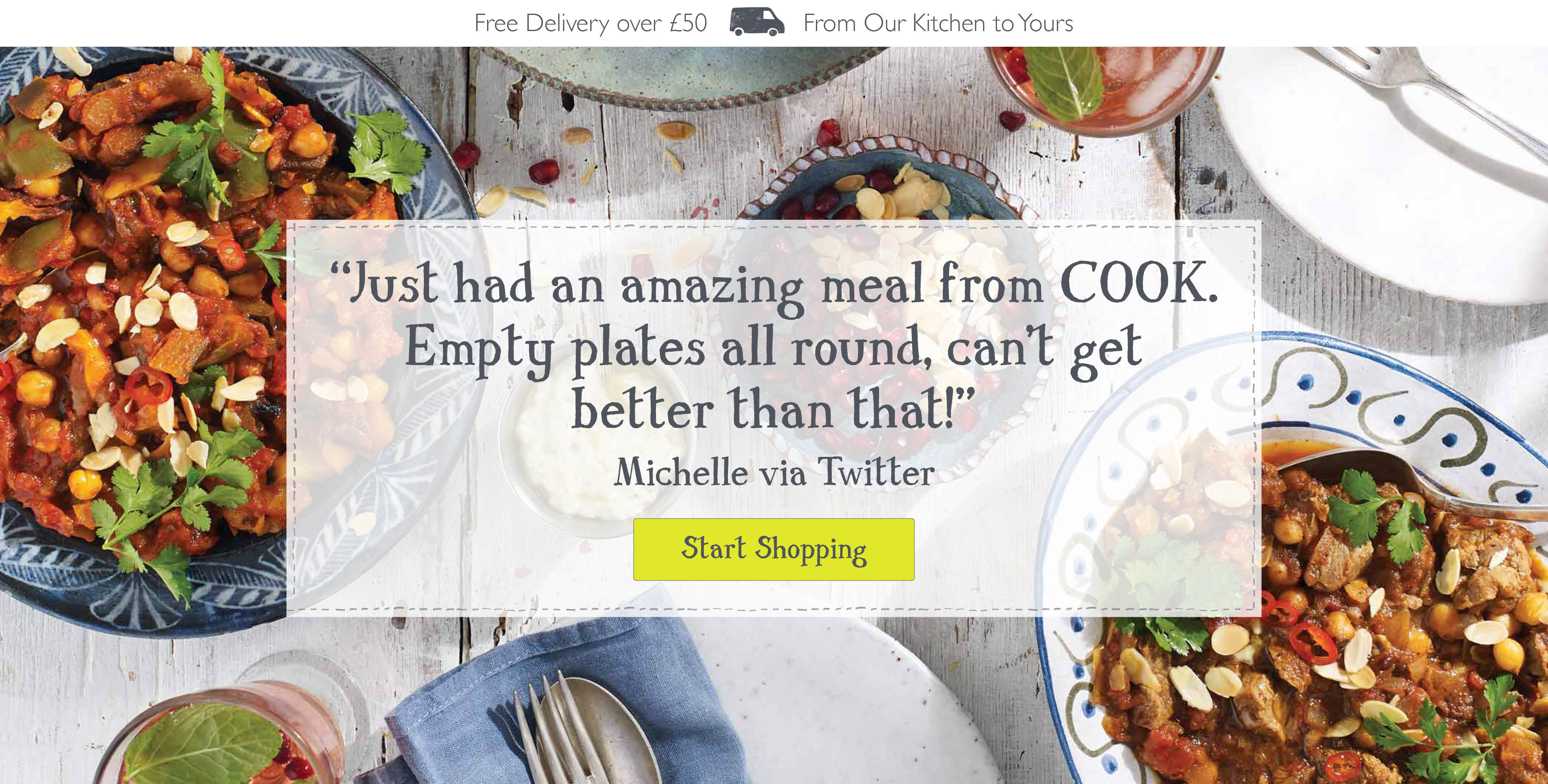 Frozen Ready Meals Delivered | COOK